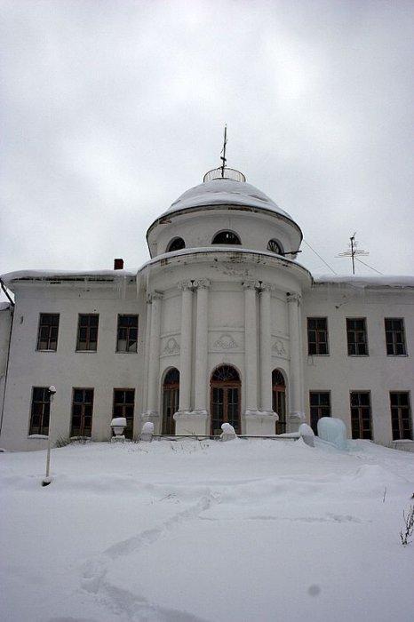 Усадьба Лювино, Центральная часть
